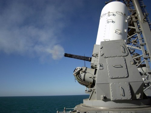 This deadly gun is the Navy's last line of defense against a missile attack
