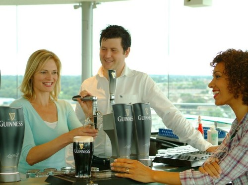 Take a tour of the Guinness brewery in Dublin, which was named the best tourist attraction in Europe