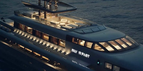 Take a look inside the $90 million superyacht that can travel nearly 5,000 miles on one tank of fuel