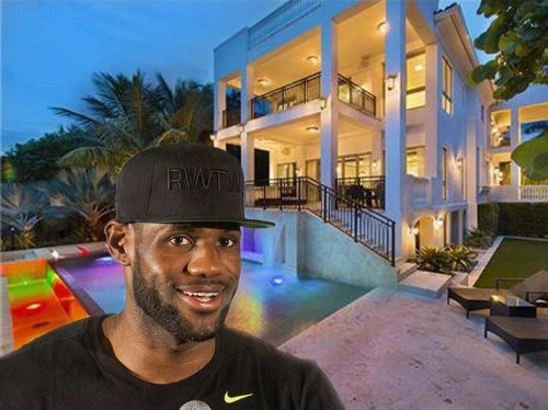 LeBron James just sold his Miami mansion for a $4 million profit