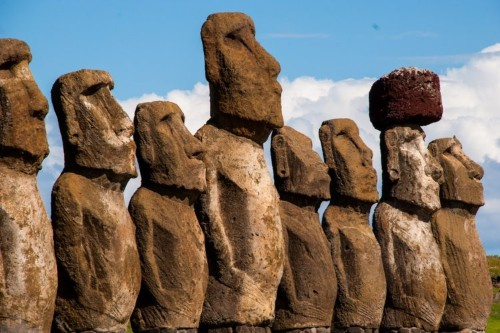 A 36-year-old woman just became the first person to swim around Easter Island. It took her 19 hours.