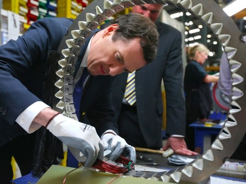 Britain's manufacturing sector is in serious trouble