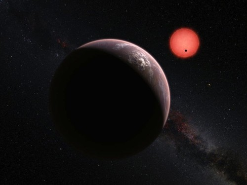 A team of astronomers found 3 Earth-sized planets orbiting a star just 40 light years away