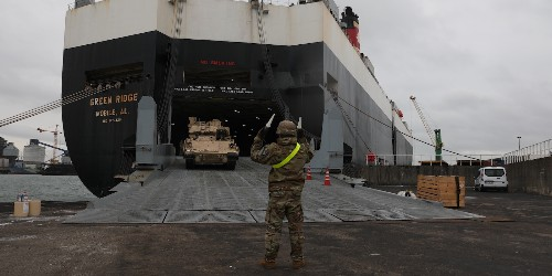 Army uses Netherlands port Vlissingen first time amid Russia tensions - Business Insider
