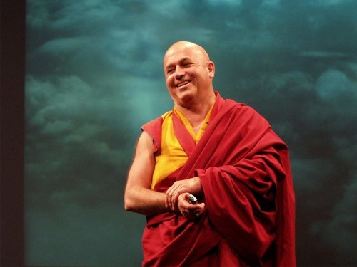 The best way to deal with stress, according to a 69-year-old monk who scientists say is the 'world's happiest man'