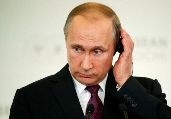 Putin: Fascist Murdering Kleptocratic Thug  - cover