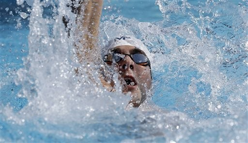 Phelps goes 3 for 3 at nationals with another strong swim