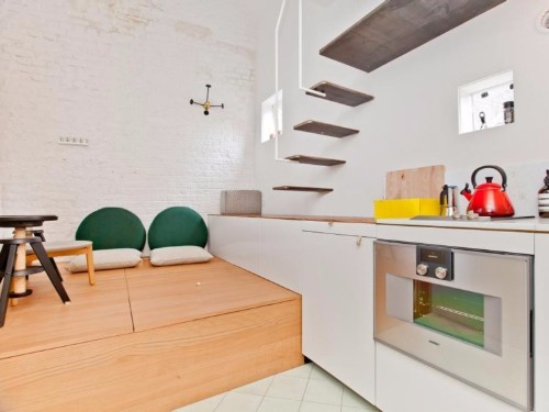 3 small space tricks we learned from touring New York City's newest micro apartments