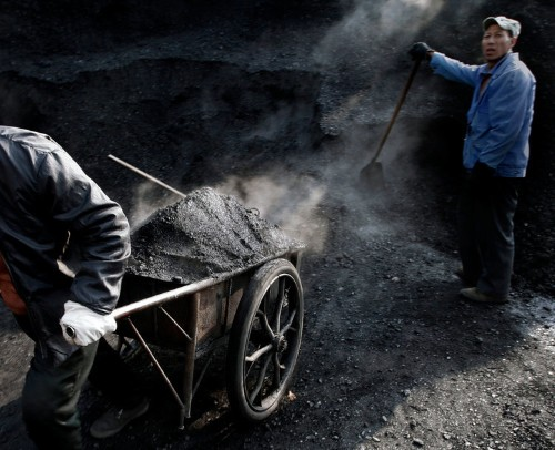 Disturbing Pictures Of China's Deadly Coal Mines