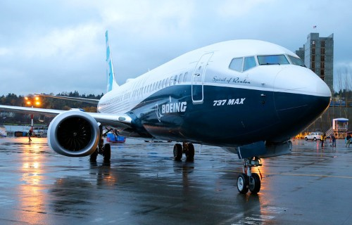 Here comes Boeing ...