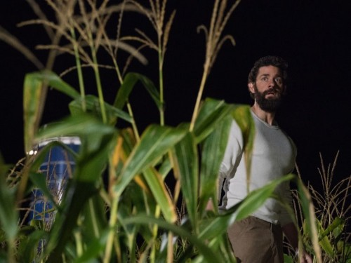 John Krasinski's terrifying new movie 'A Quiet Place' is a rare horror film with 100% on Rotten Tomatoes