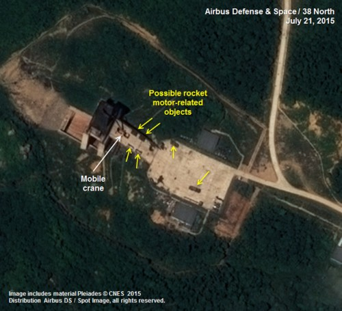 New satellite images show North Korea upgrading its main missile launch site