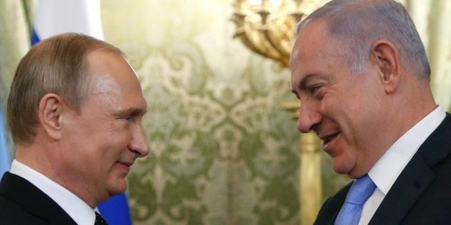 After Israeli PM Netanyahu met Putin, Russia says it won't sell advanced missile defenses to Syria