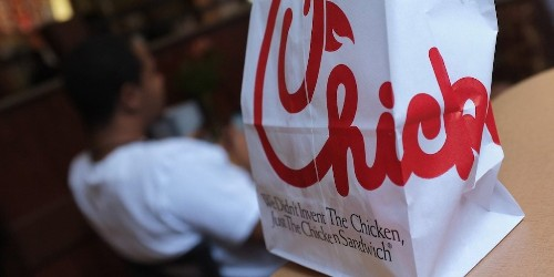 The FAA is investigating 2 airports over their decisions to bar Chick-fil-A