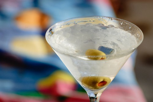 Here's a great all-in-one Martini recipe for the holidays