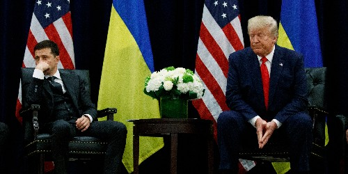 Ukraine just threw a huge wrench into Trump's key defense denying a quid pro quo - Business Insider