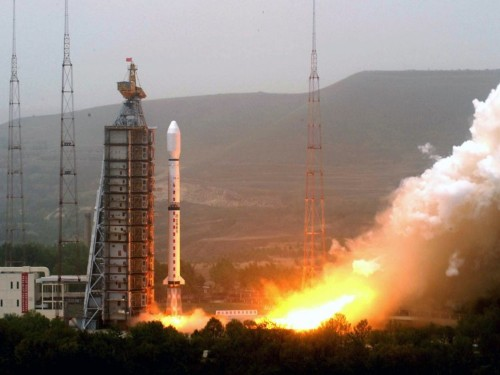 Video shows a top-secret Chinese space mission failing in mid-flight — China's second rocket loss of the year