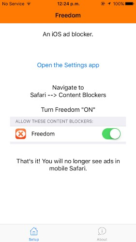 Here's how easy it is to install an ad blocker on your iPhone