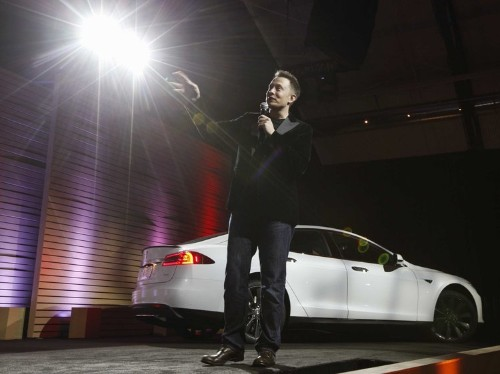 Tesla Is Up 7%
