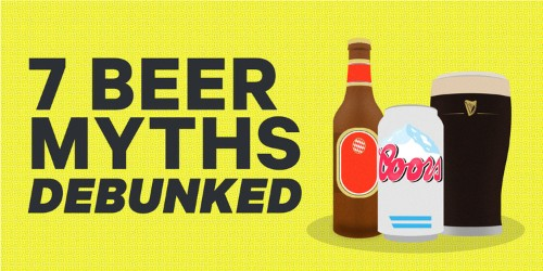 7 of the biggest myths about beer debunked