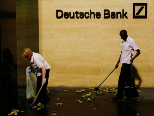 One of Deutsche Bank's big-name trading execs is in talks to leave the bank