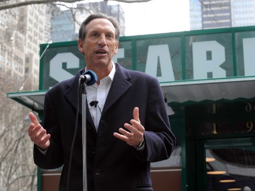 Starbucks CEO Howard Schultz Perfectly Sums Up Retail's Biggest Problem