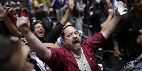 US stocks are whipsawing after US service-sector growth slows to 3-year low