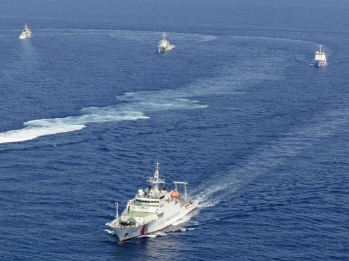 Chinese Ships Are Sailing Near Disputed Islands Claimed By Japan
