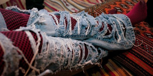 Why most jeans are blue