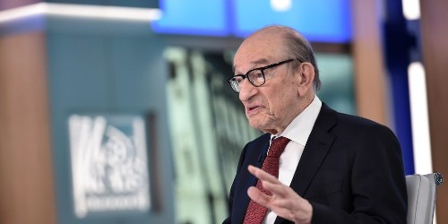 Former Fed Chair Alan Greenspan says he wouldn't be surprised to see negative US Treasury yields