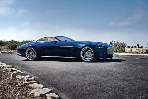 Mercedes-Maybach just unveiled a stunning convertible concept car to rival Tesla