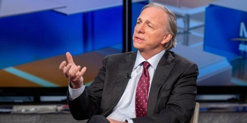 Legendary billionaire Ray Dalio told a crowd at Davos that the next economic meltdown scares him more than anything — here's what he said, and why he's so worried