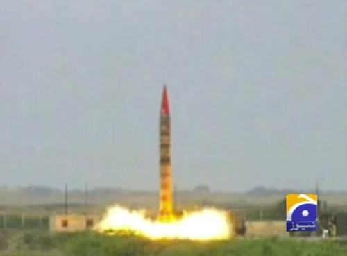 Pakistan Just Successfully Tested A Nuclear-Capable Ballistic Missile