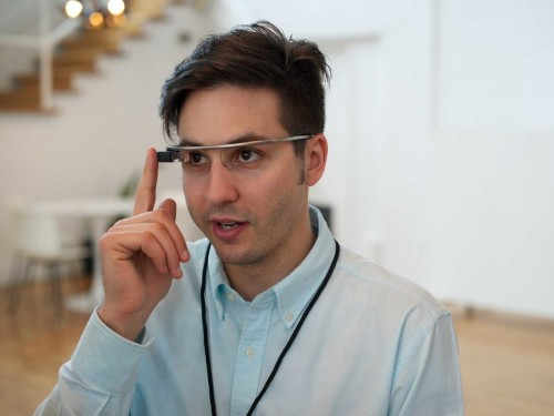 What It's Like To See Through Google Glass