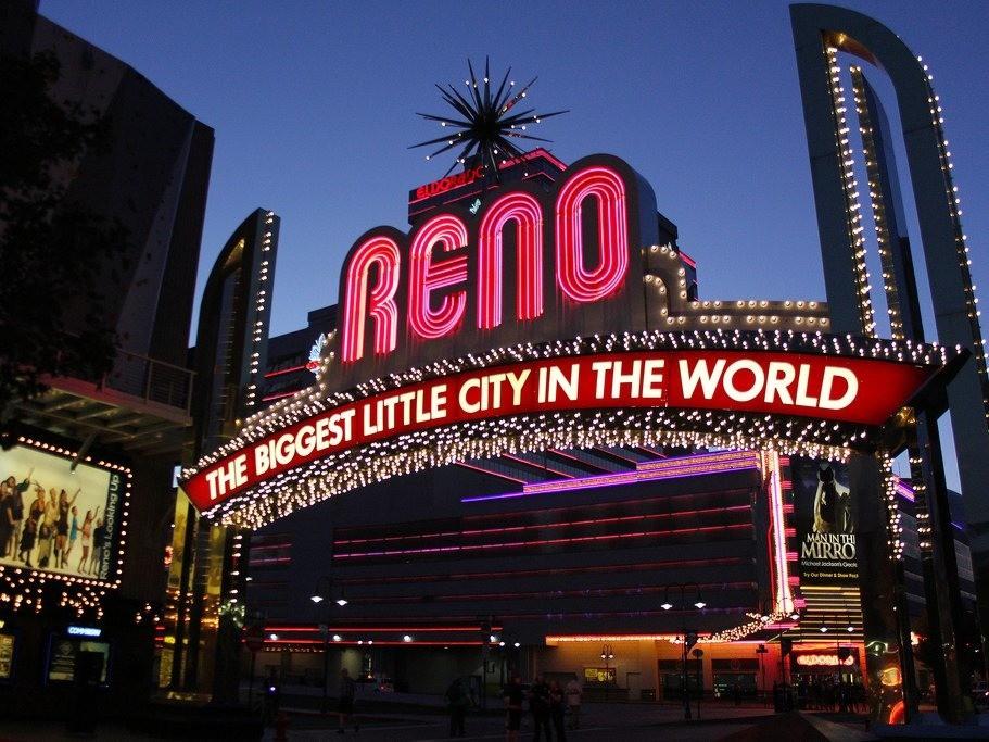 Reno - Magazine cover