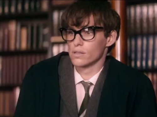 Eddie Redmayne wins his first Oscar for 'The Theory of Everything'