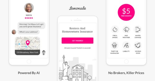 I signed up for Lemonade's renters insurance and it was super easy