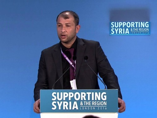 A man who has helped save more than 40,000 lives in Syria was just denied entry into the US