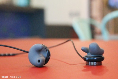 These headphones mold to your exact ear shape in 60 seconds