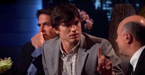 Ashton Kutcher nailed his 'Shark Tank' debut