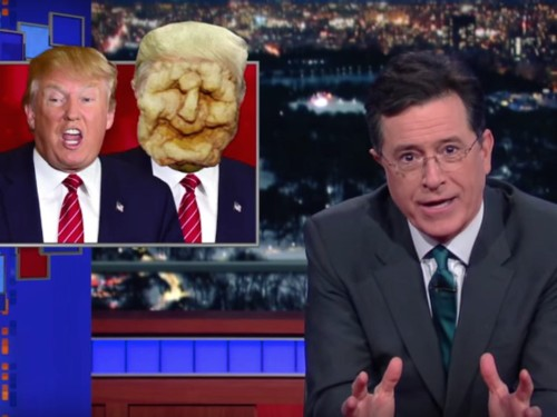 Stephen Colbert explains why he thinks Donald Trump doesn't really want to be president at all