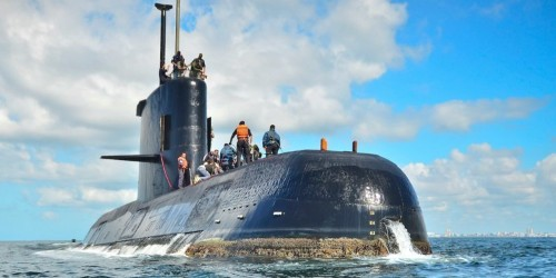Argentina releases first images of the submarine San Juan — lost a year ago at 3,000 feet deep with all its crew