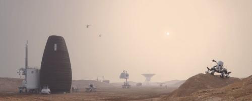 NASA 3D printer habitat competition winner has been announced