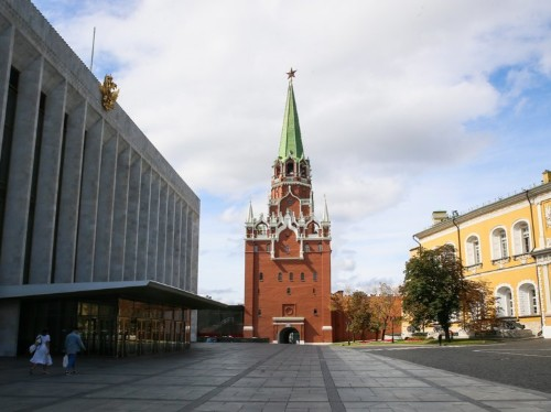 Inside the Kremlin, the fortified complex in the heart of Moscow