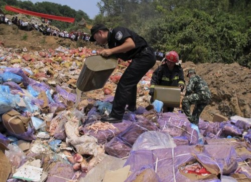 Meat smuggling is getting out of hand in China