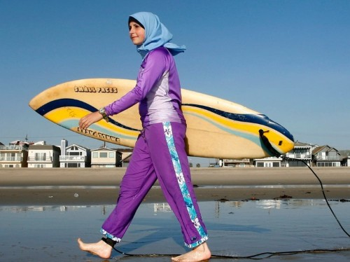 Sales for burkinis are up by 200% after being banned in southern France