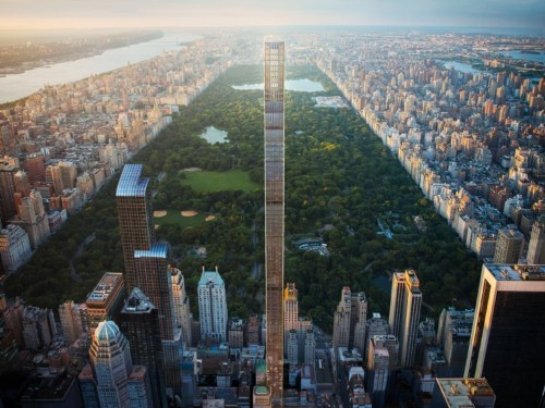 Apartments are now available inside the world's skinniest skyscraper — take a look