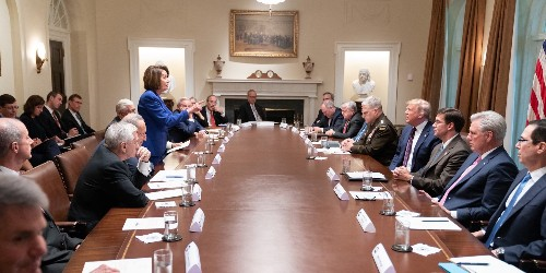 Trump 'meltdown' after Pelosi said he helped Putin in Syria: reports - Business Insider