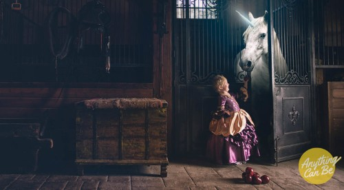 This photographer creates heartwarming images where pediatric cancer patients can live out their lifelong dreams