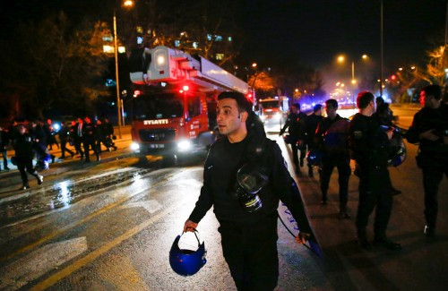 At least 28 killed, 61 wounded after huge explosion rocks Turkish capital of Ankara